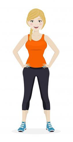 سطح-متوسط-عضله-سازی-خانم-ها